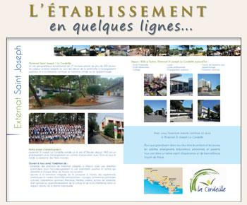 Brochure ESJ - La Cordeille